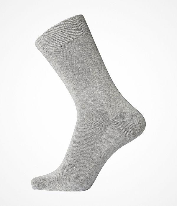 Egtved Pure Cotton Socks Light grey