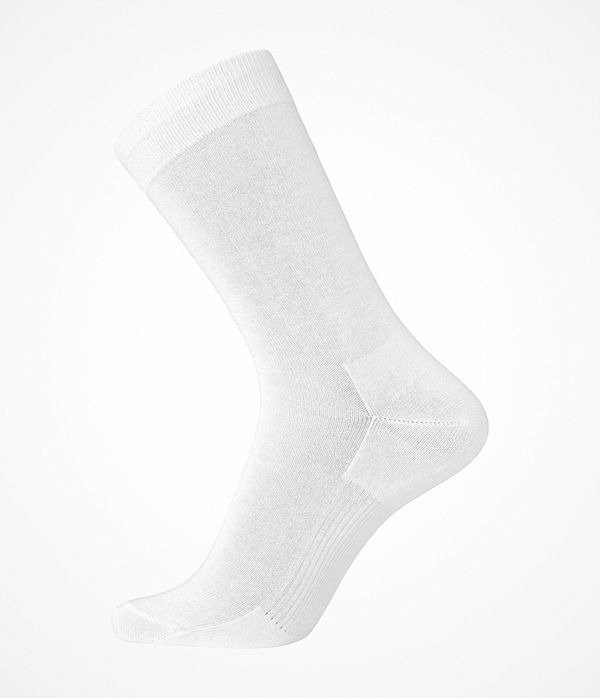 Egtved Cotton Socks White