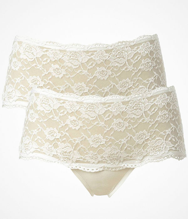 Trofé 2-pack Trofe Lace Hipster Briefs Champagne