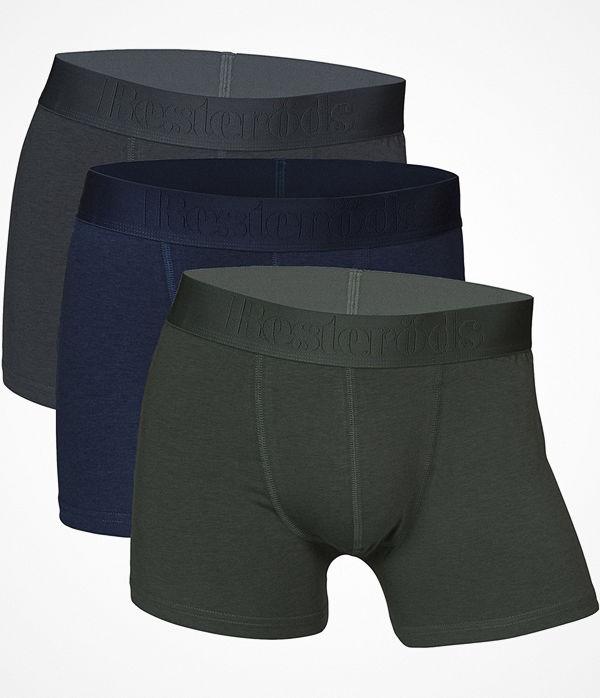 Resteröds 3-pack Gunnar Bamboo Grey/Blue