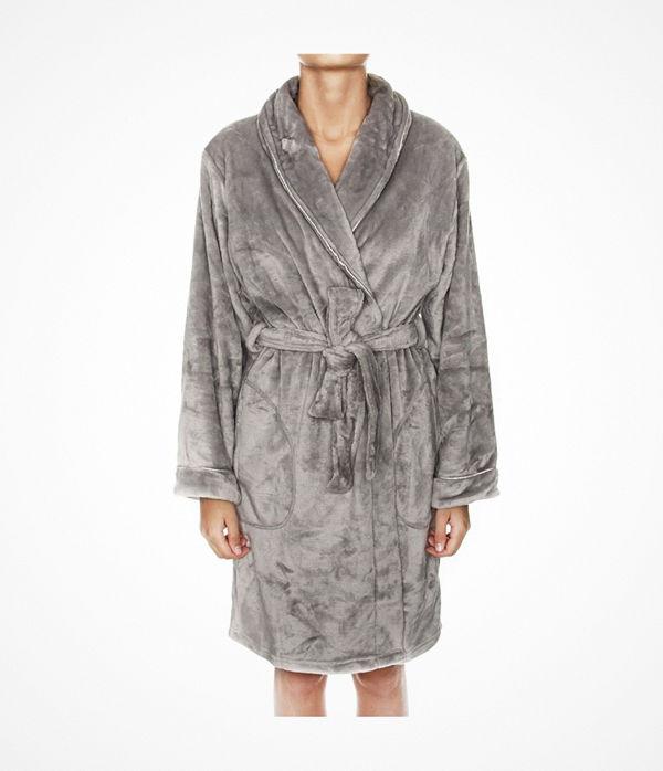 Missya Reba Robe Short Grey
