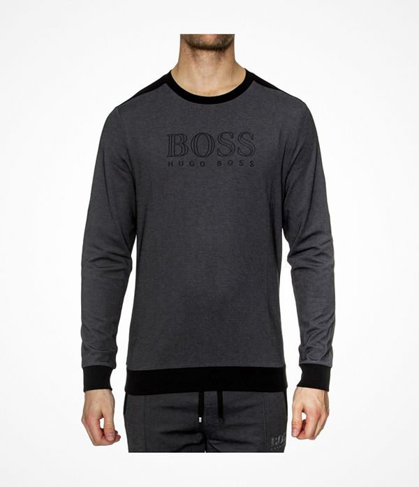 Hugo Boss BOSS Loungewear Tracksuit Sweatshirt Black