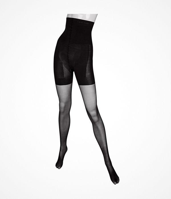 Calvin Klein Ultra Fit High Waist Shaper Tights 40 Black
