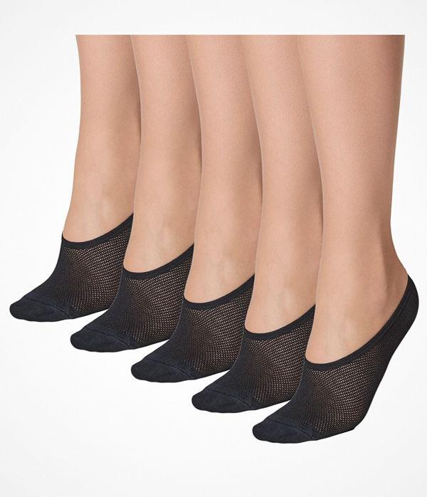 Decoy 5-pack Footies Quick Dry Black