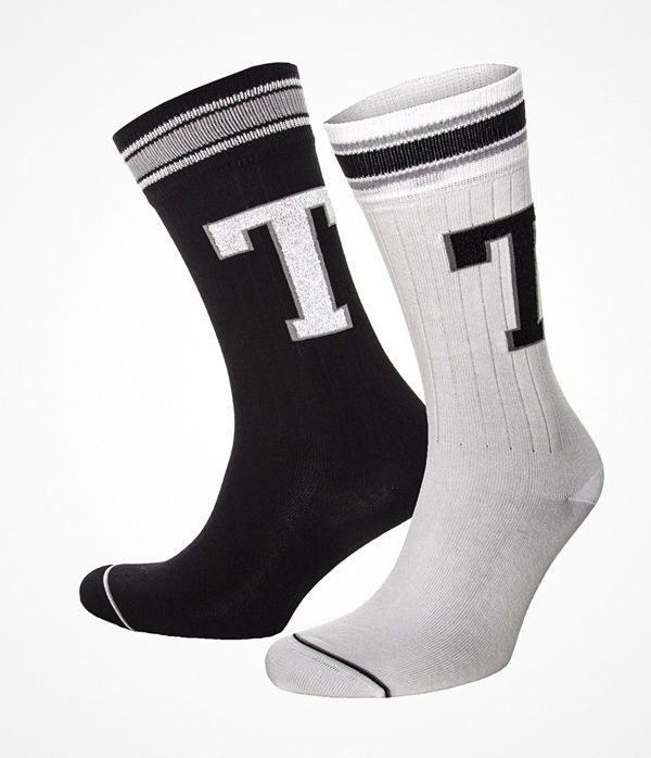 Tommy Hilfiger 2-pack Men Patch Socks White