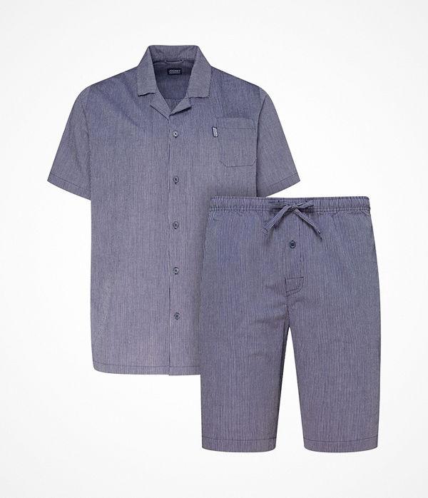 Jockey Short Pyjama Woven Navy-2