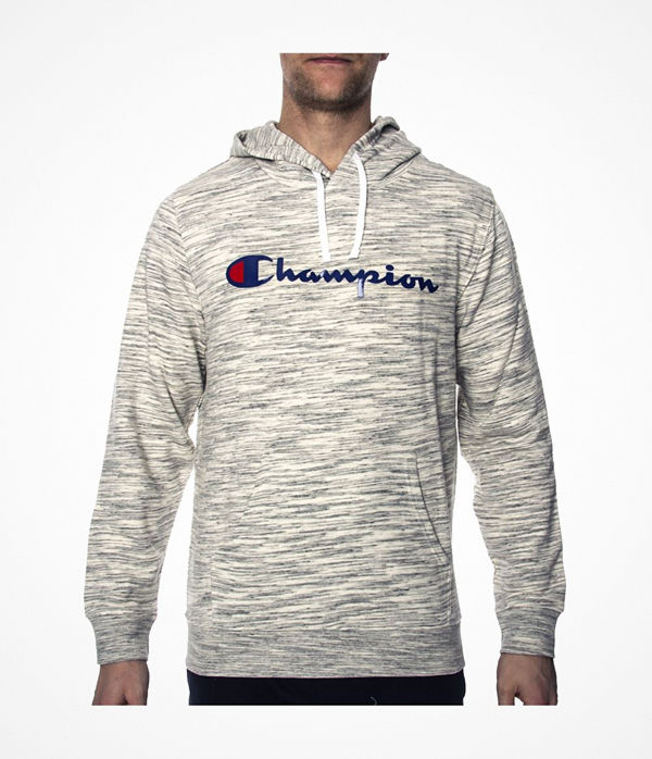 Champion American Classics Hooded Sweatshirt M Greymarl