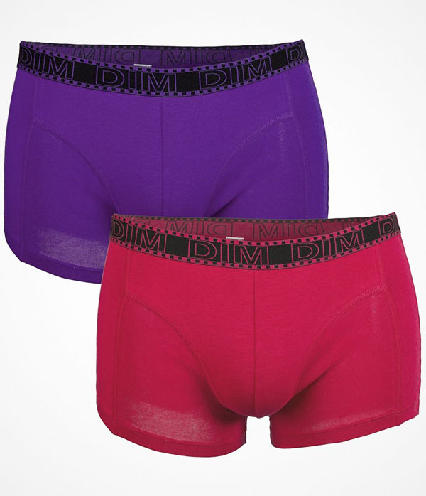 DIM 2-pack EcoDim Fashion Boxer Pink/Lilac