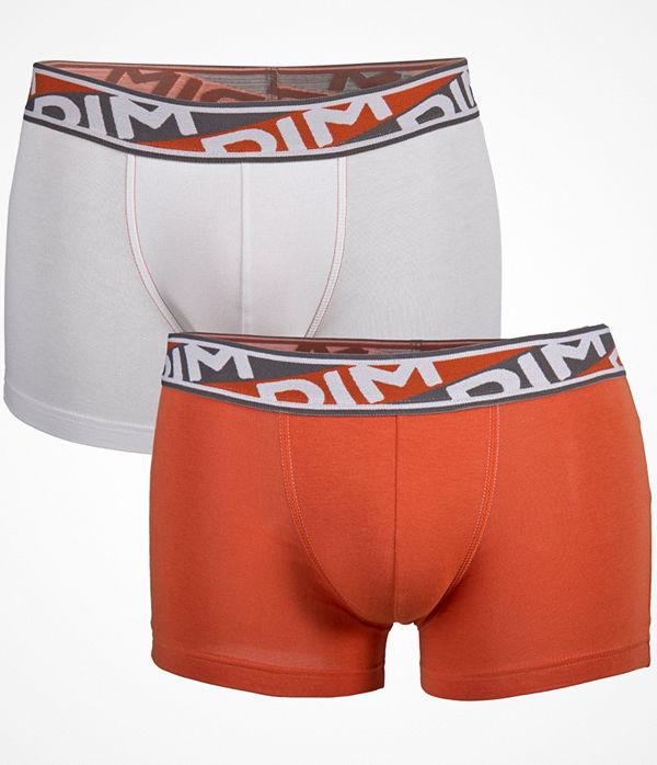 DIM 2-pack Mens Underwear Urban Boxer P White/Orange