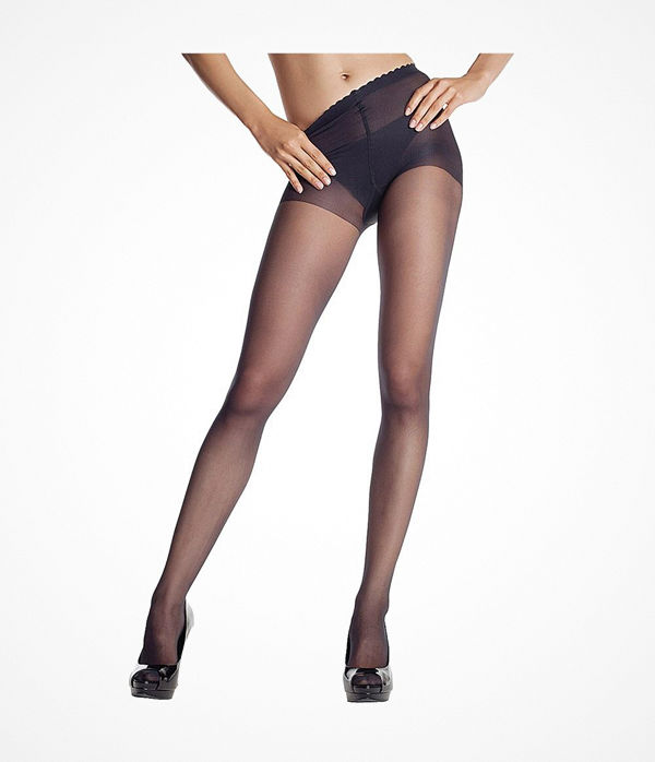 DIM Body Touch Voile Pantyhose Black