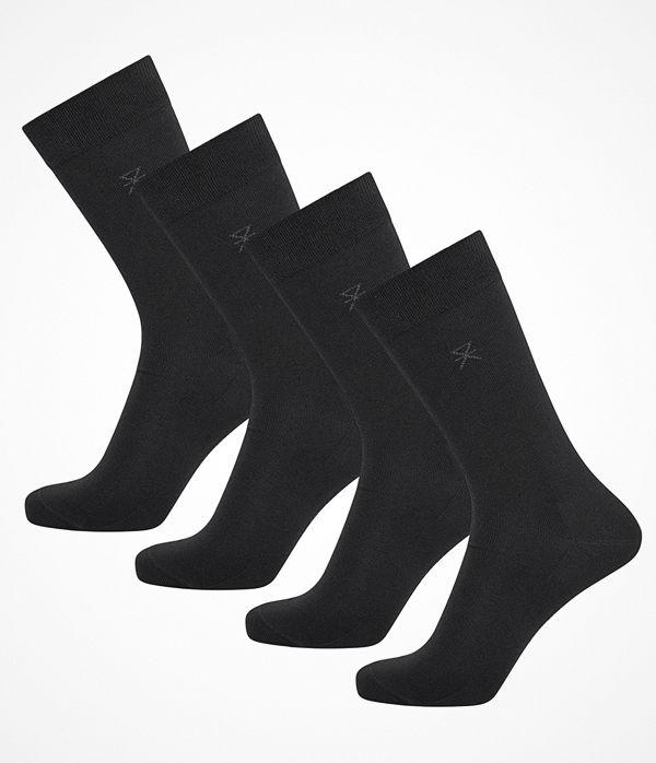 JBS of Denmark 4-pack Bamboo Blend Socks Black