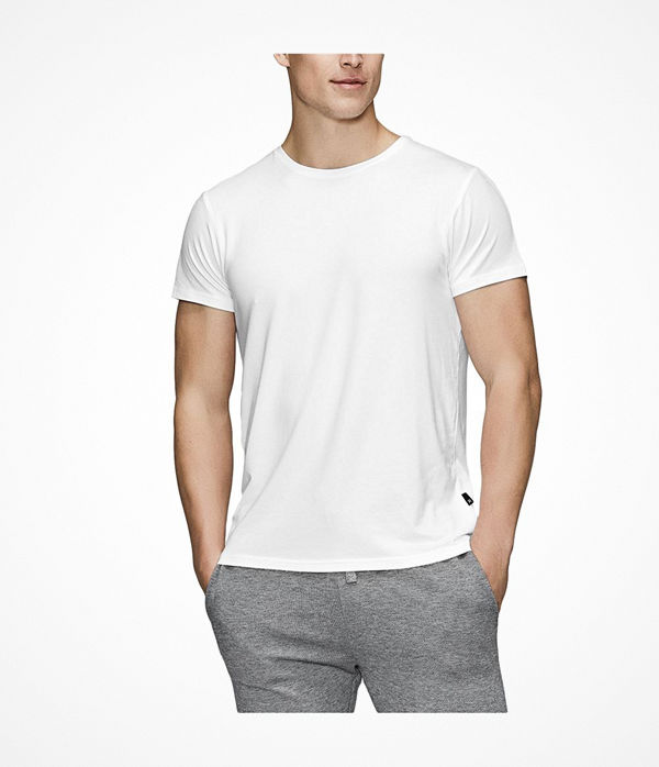 JBS of Denmark Bamboo Blend O-neck T-shirt White