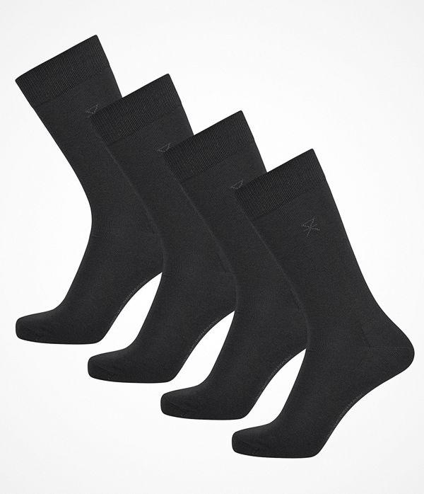 JBS of Denmark 4-pack Organic Cotton Socks Black
