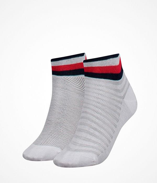 Tommy Hilfiger 2-pack Women Resort Short Sock White
