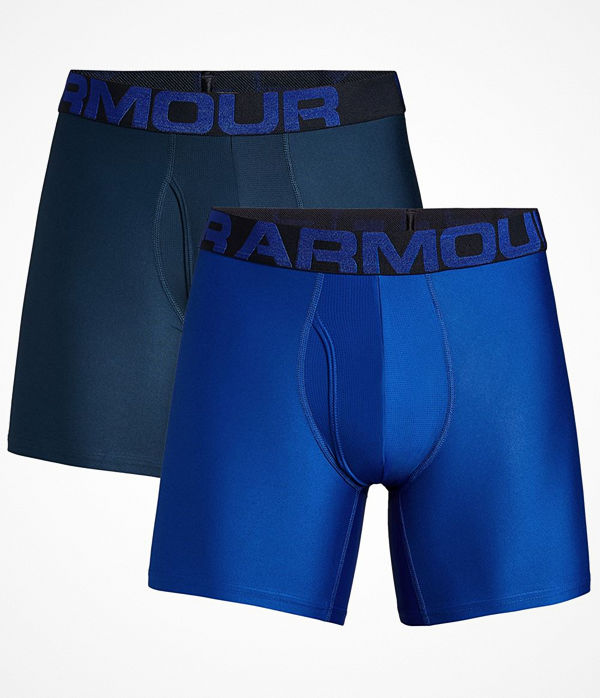 Under Armour 2-pack Tech 6in Boxers Blue