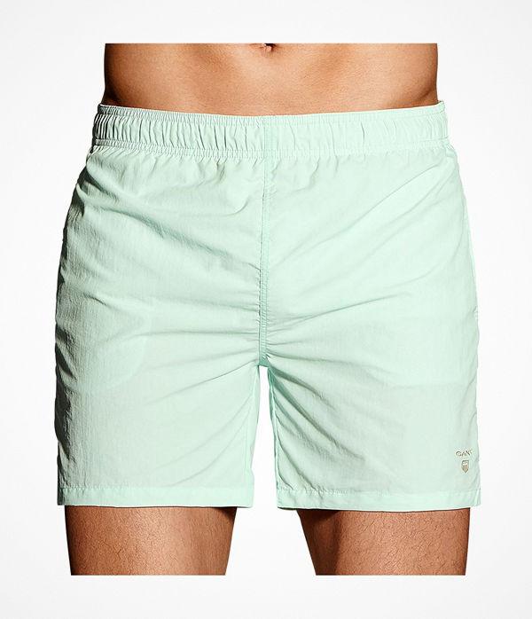 Gant Basic Swim Shorts Classic Fit Turquoise