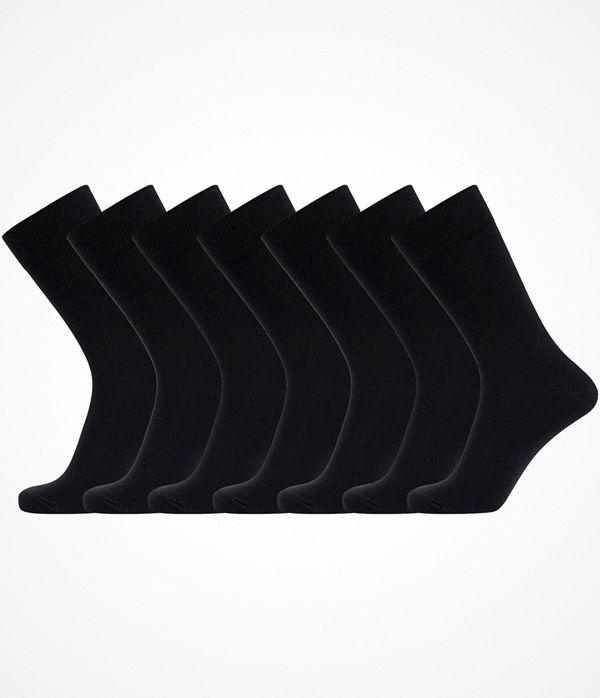 JBS 7-pack Bamboo Socks Black