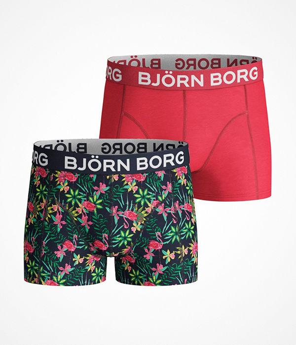 Björn Borg 2-pack Exotic Sammy Shorts For Boys Multi-colour