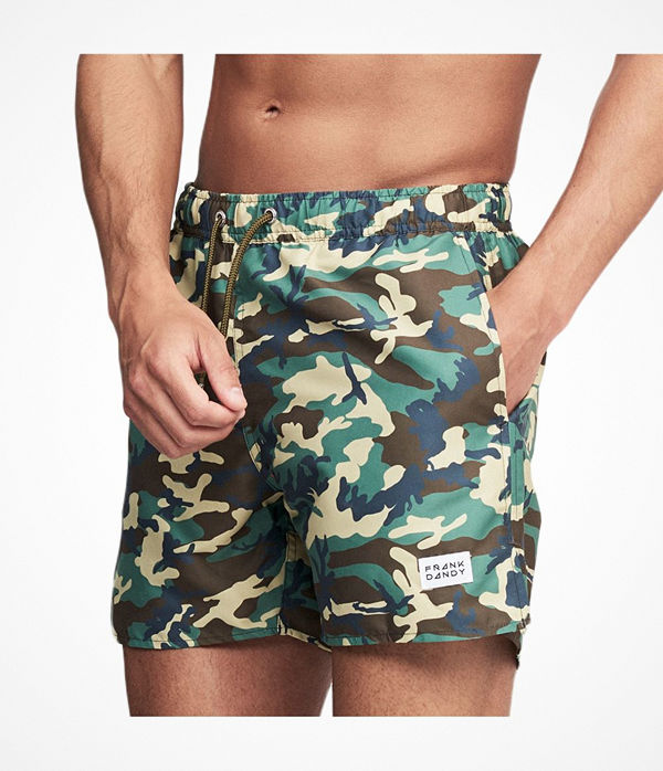 Frank Dandy Breeze Camo Swim Shorts Camouflage-2