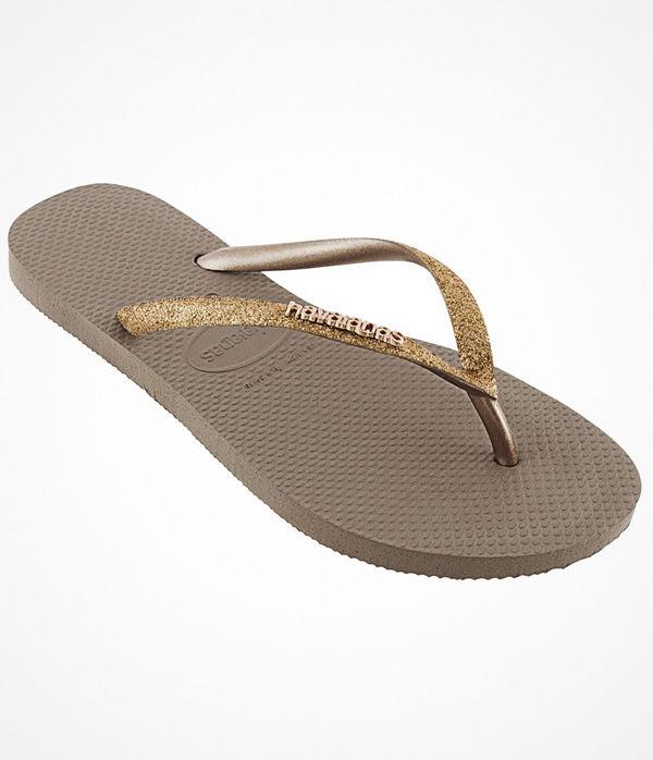 Havaianas Slim Glitter Gold