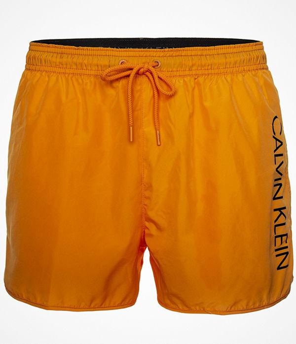 Calvin Klein Core Solids Short Runner Swim Shorts Orange