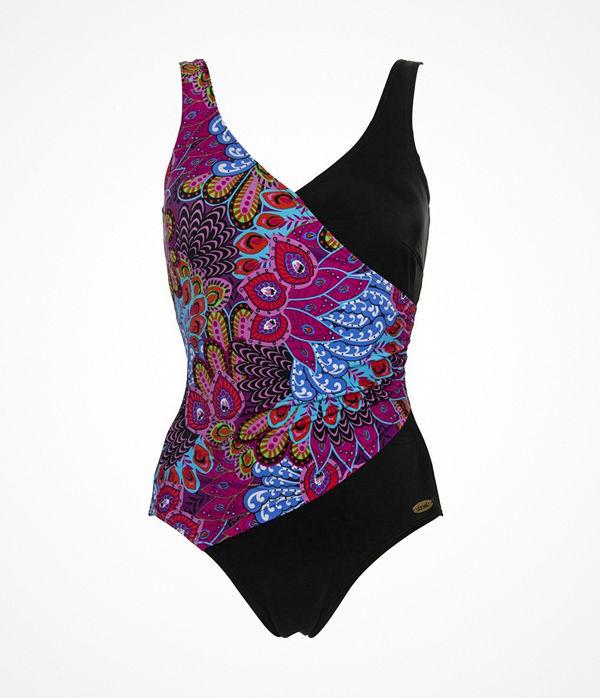Damella Peacock Feather Swimsuit Multi-colour