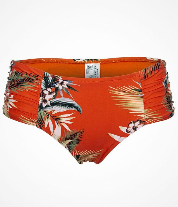 Seafolly Ocean Alley Wide Side Retro Bikini Pant Orange patterned