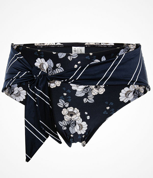 Seafolly Splendour Wide Side Retro Bikini Pant Indigo blue