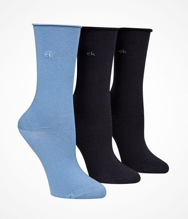 Calvin Klein 3-pack Juno Bamboo Roll Top Socks Navy/Blue