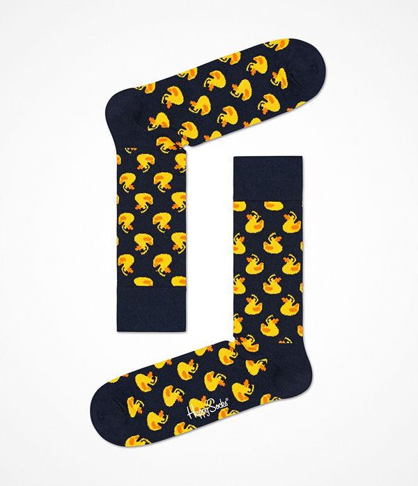 Happy Socks Happy Socks Rubber Duck Sock Navy pattern