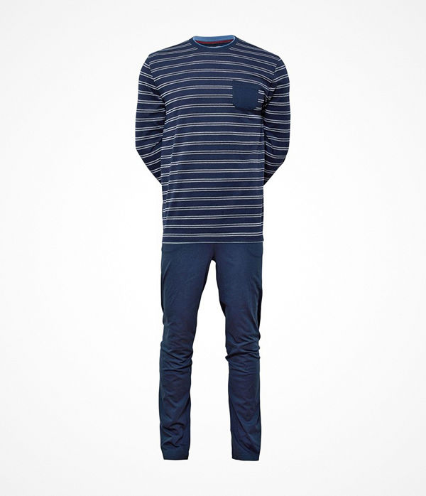 JBS Jersey Pyjama Blue Striped