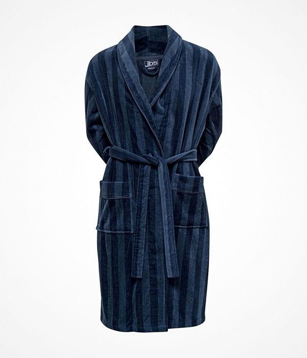 JBS Velour Bath Robe Darkblue