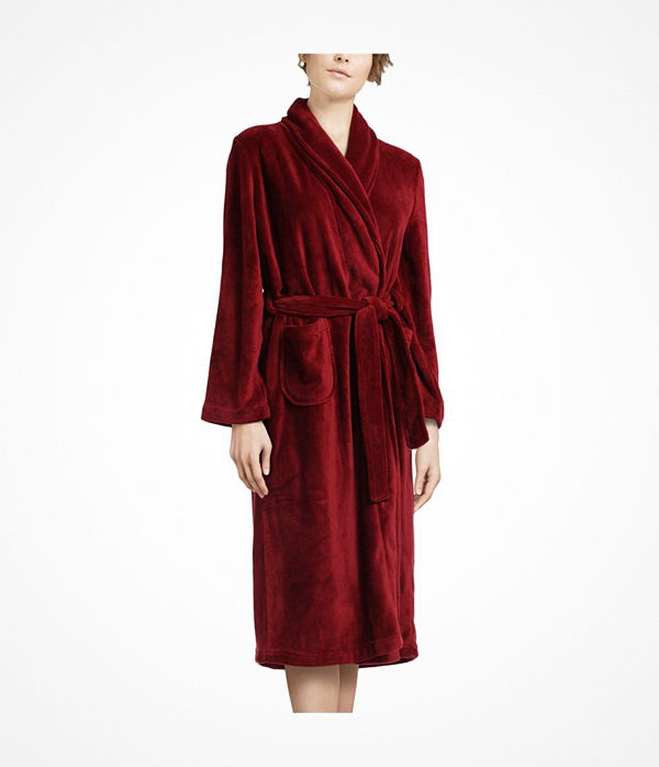 Femilet Teddy Robe Wine red