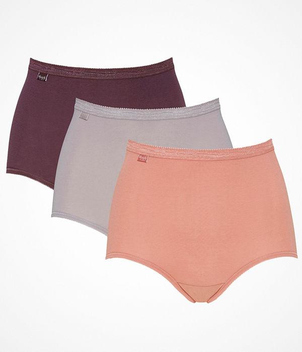 Sloggi 3-pack Basic Plus Maxi Colored Pink/Grey