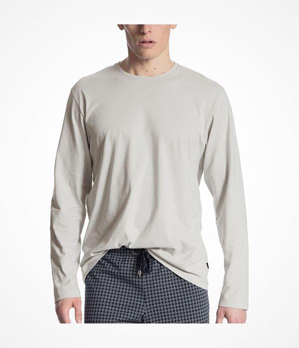 Calida Remix Basic Shirt Long Sleeve Beige