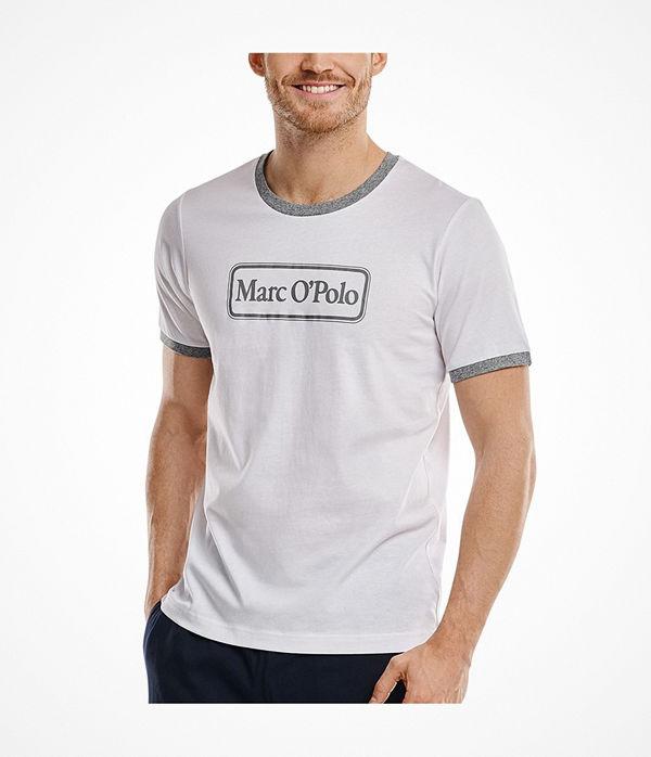 Marc O'Polo Marc O Polo Shirt Crew Neck White