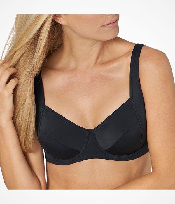 Triumph Mix and Match Underwired Bikini Bra Black