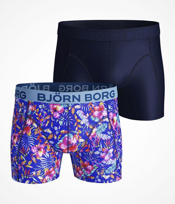 Björn Borg 2-pack Lightweight Microfiber Shorts 212 Blue Pattern