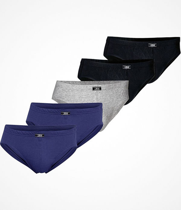JBS 5-pack Organic Cotton Mini Slip Brief Multi-colour