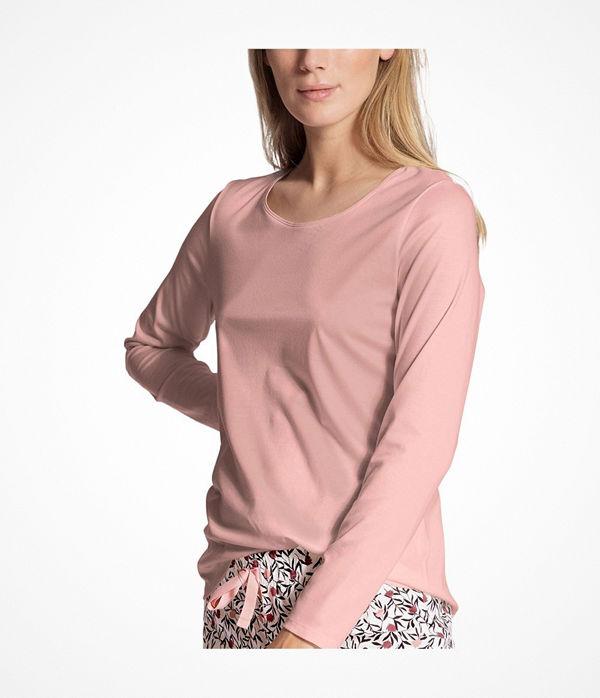 Calida Favourites Dreams Shirt Long Sleeve Pink