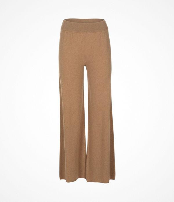 Pierre Robert X Jenny Skavlan Wool Lounge Pants Camel
