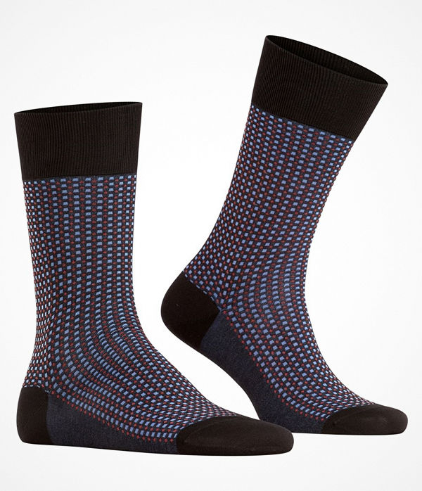 Falke 2-pack Uptown Tie Sock Black