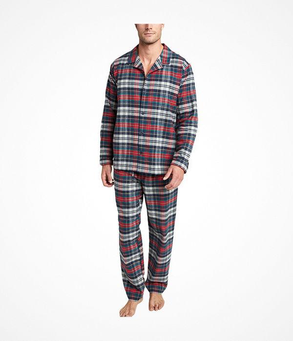 Jockey USA Originals Flannel Pyjama Red/Blue