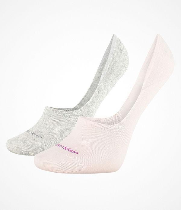 Calvin Klein 2-pack Jessica No Show Sock Grey/Pink