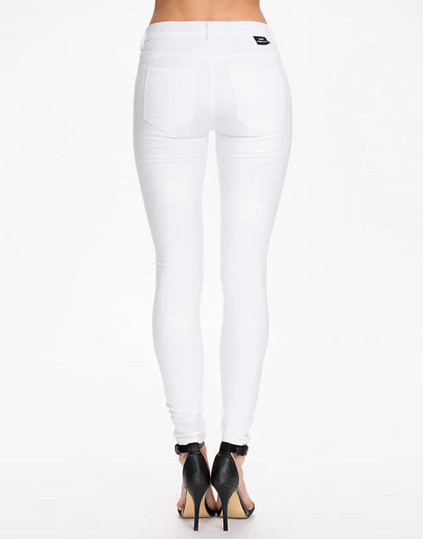 Dr. Denim Plenty Denim Leggings White