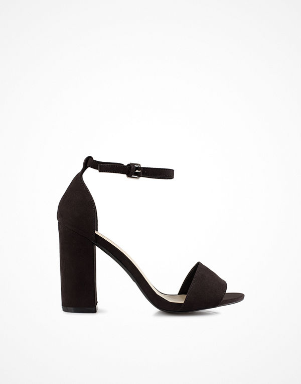 NLY Shoes Block Heel Sandal Svart
