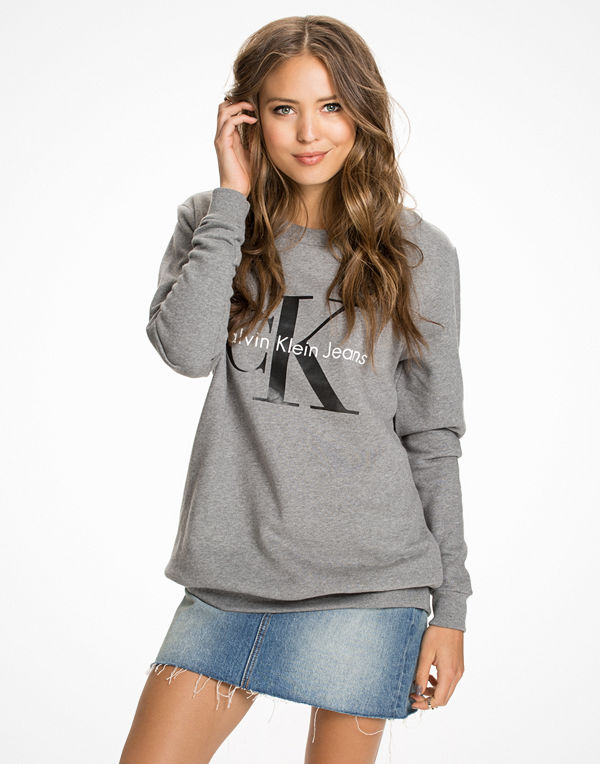 Calvin Klein Jeans Crew Neck Hwk Light Grey