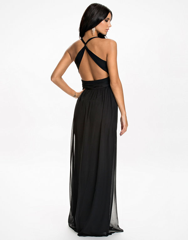 NLY Eve Empire Cross Back Dress