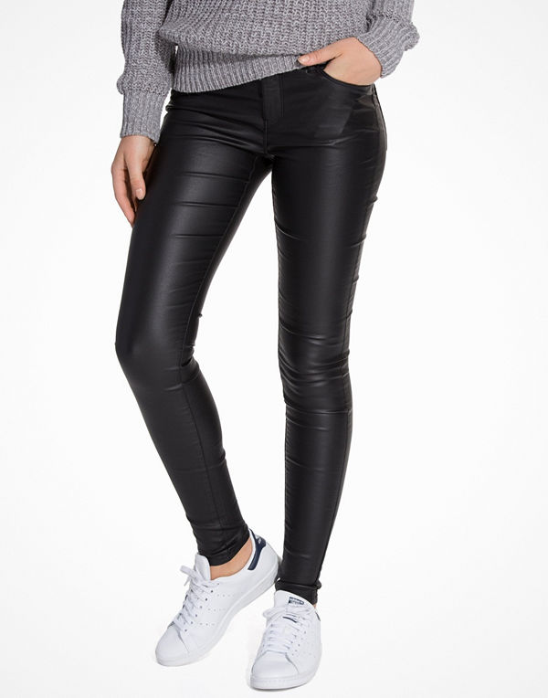 Vero Moda Vmseven Nw Ss Smooth Coated Pants N