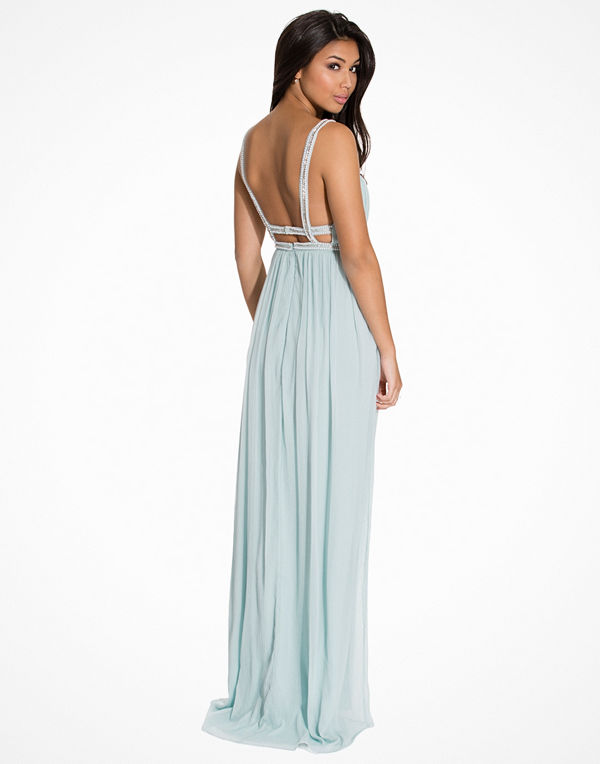 NLY Eve Diamond Strap Gown